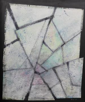 Berlin-Pisa / Mischtechnik auf Papier / 73 x 86cm / 2017