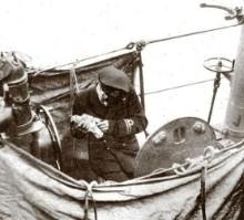 Duiven werden ook gebruikt om berichten te verzenden vanaf onderzeeërs...