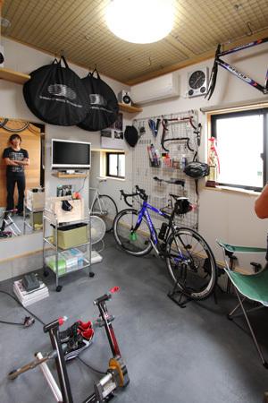 ロードバイクの部屋