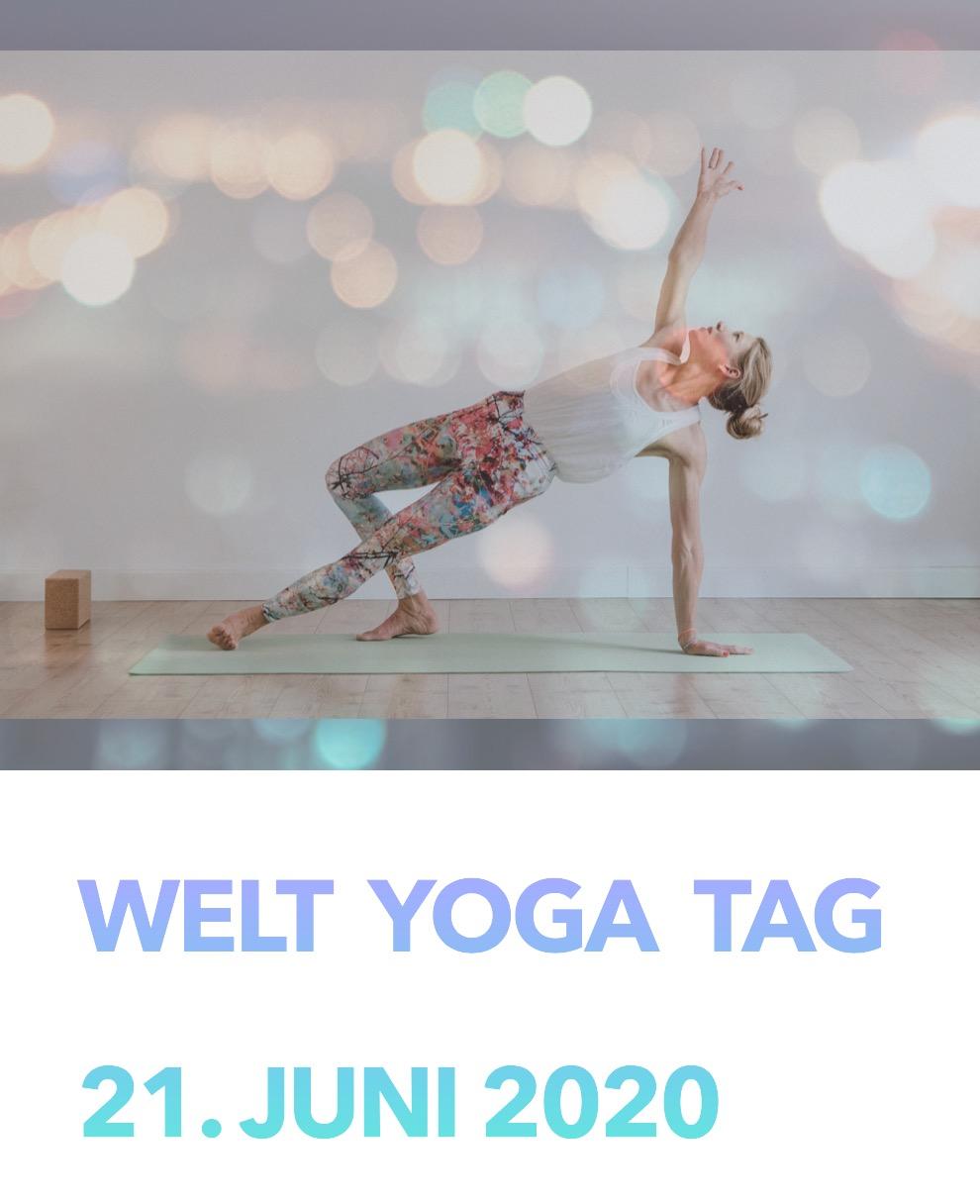 Ich wünsche euch einen wunderschönen Tag - Welt Yoga Tag 2020