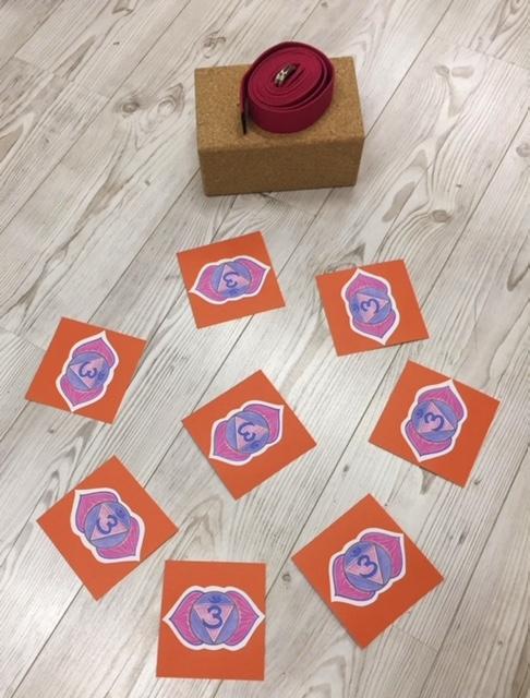 Ajna Chakra - Chakra Karten zum Stirnchakra