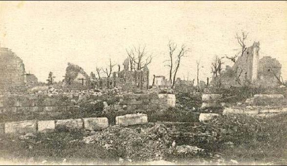 Ruines de la ferme de Quennevières