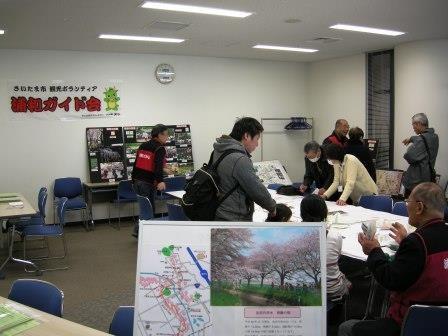 展示(さいたま市観光ボランティア・浦和ガイド会)