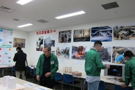 展示(緑の回廊まちづくりを推進する会)