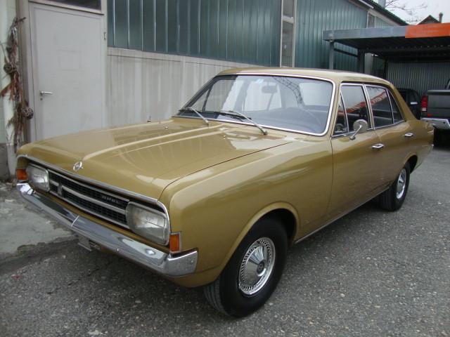 Opel Rekord Teilrestauriert