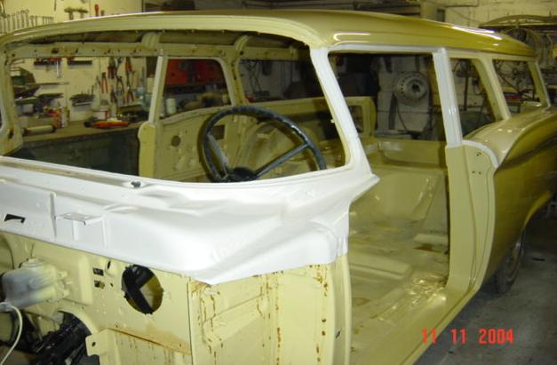 Ranchwagon von 1959 Komplet restauriert