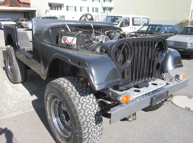 Jeep Komplet neu Lackiert