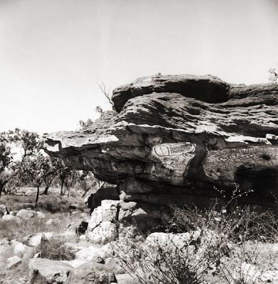 Sagrado Sitio Wandjina en Ngungunda.