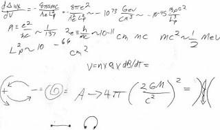 ( Arriba, una muestra de las extrañas fórmulas matemáticas que escribe el testigo)