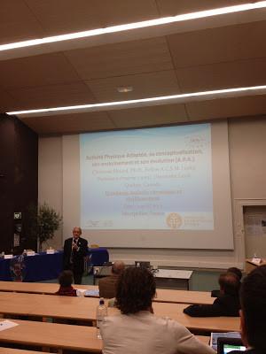 En présence du Professeur Clermont Simard, professeur émérite et pionnier des APA.