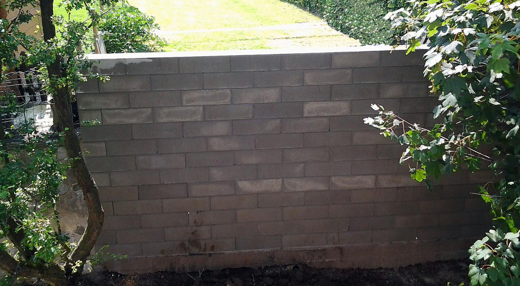 mur de soutien en blocs STEPOC