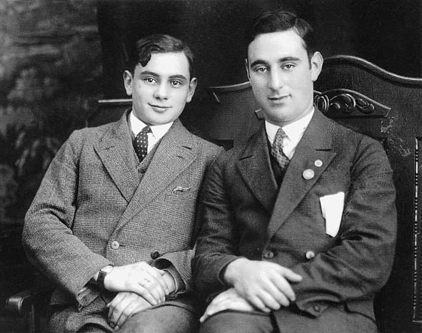 Die Vettern Theo und Willi Braunschweiger