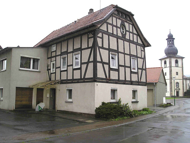 Ehemalige Synagoge in der Rothenkirchener Brunnenstraße