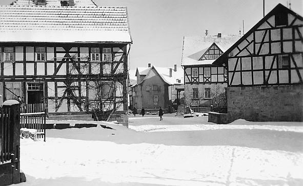 Schlossstraße, links Haus Abraham Strauß II