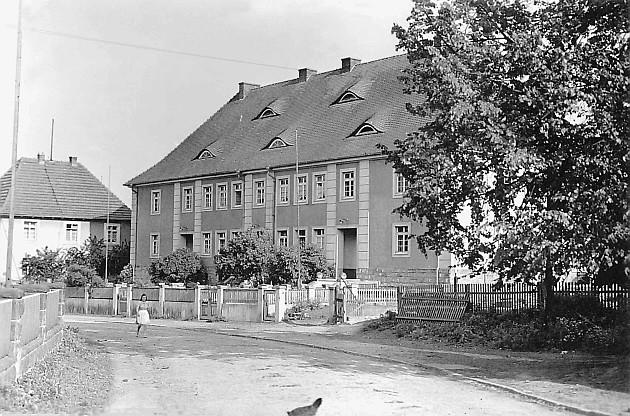 Christl. Volksschule, die nach 1933 auch von den jüdischen Kindern besucht wurde