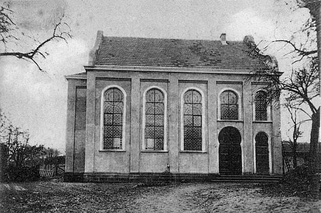 Neue Synagoge in der Ringstraße