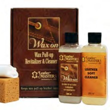 LM WaxOn Leather Care Maxi Kit