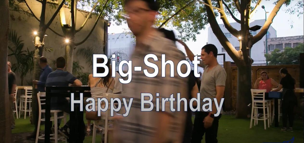 ביג שוט חגגו יום הולדת - ואנחנו צילמנו את האירוע חברה