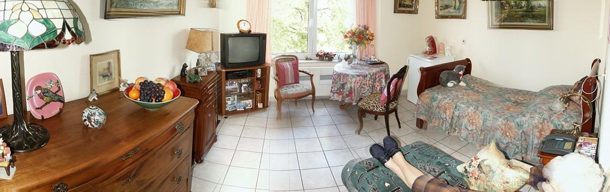Un exemple de chambre individuelle