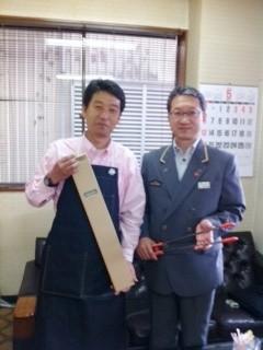 JR東日本 加茂駅の佐藤駅長