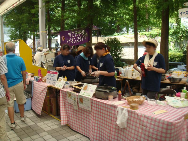 四国中央紙まつり 食いしんぼ横丁