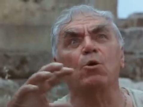 """große Schauspieler wie Ernest Borgnine wurden für """"Der Schatz im All"""" gewonnen"""