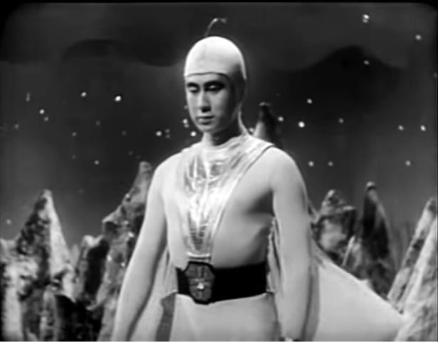 Ken Utsui wurde als Starman berühmt und ging in die japanische Popkultur ein