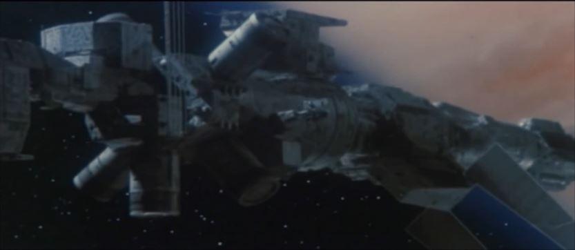 eine Jupitersekte plant einen Anschlag auf die Raumstation
