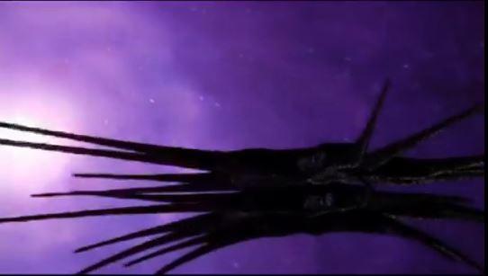 Gänsehaut pur: die spinnenartigen Kampfschiffe der Schatten