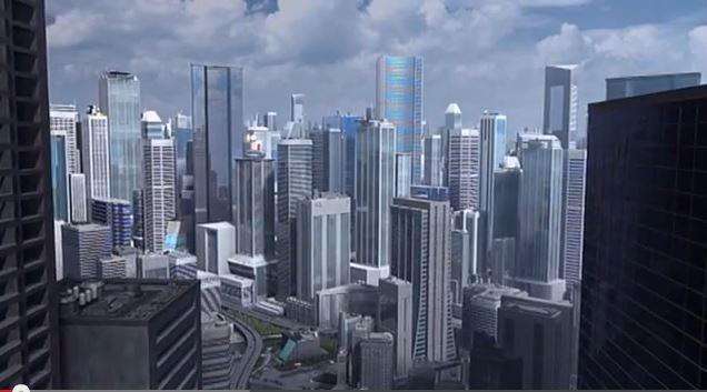 Beeindruckend! Eine Stadt, fast wie aus einem Realfilm
