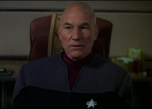 Picard ist gar nicht amused über die Machenschaften des Föderationsrates