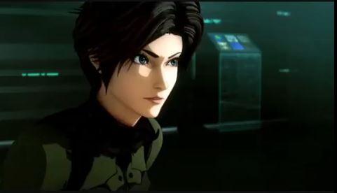 Vexille ist im modernen Anime-Look dargestellt