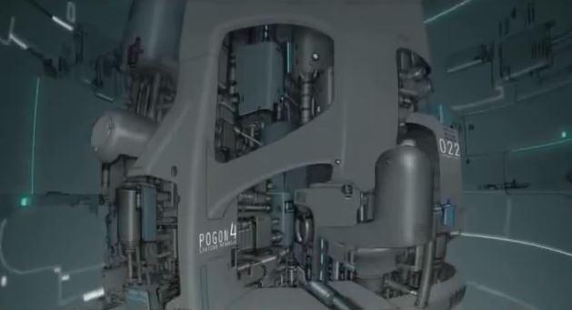 der Film ist voll von futuristischen Elementen