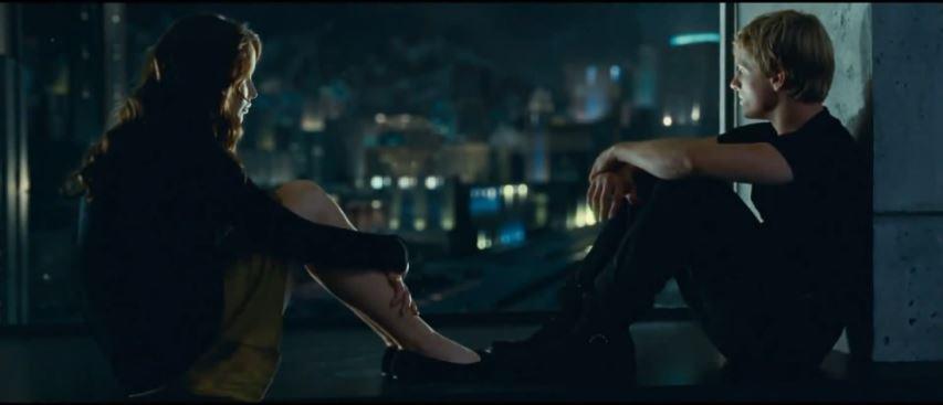 Jennifer Lawrence und Josh Hutcherson machen ihre Sache hervorragend