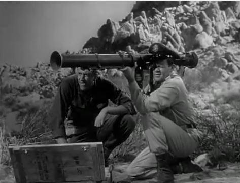 wie üblich in SciFi Filmen, spielt das US-Militär eine große Rolle im Film