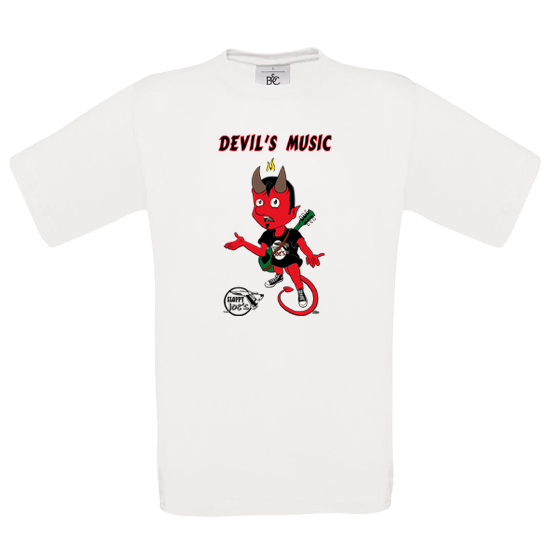 DEVIL'S MUSIC T-SHIRT