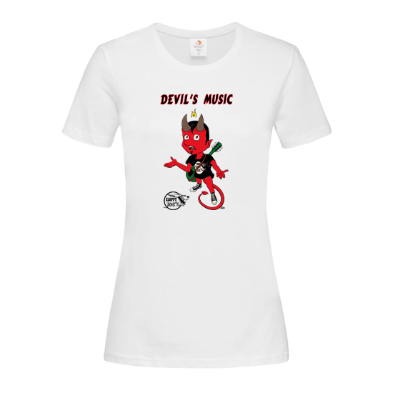 DEVIL'S MUSIC LADIES-SHIRT