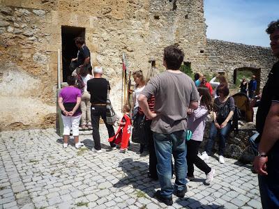 La visite du Donjon