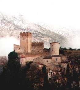 vue du château en février 2001