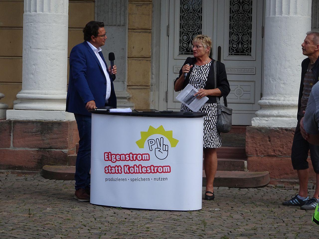 Gespräch mit MdB Daniela Wagner aus Darmstadt