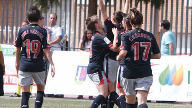 Nekane celebra uno de sus goles - Foto: @laliga