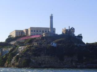 """""""The Rock"""" wie Alcatraz genannt wird"""