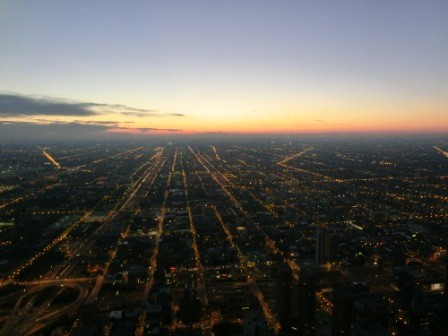 Blick vom Willis Tower