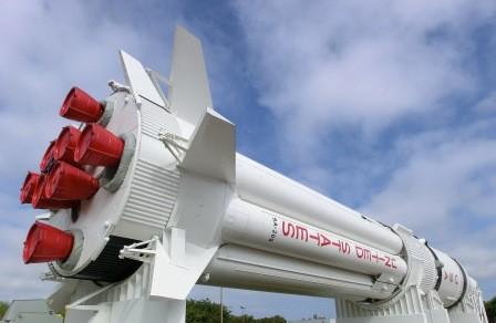 Rocket Garden - die größte Rakete Saturn IB