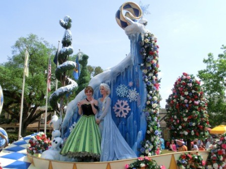 Frozen - Festival of Celebration Parade
