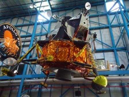 erstes Mondlandefahrzeug