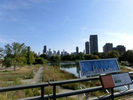Chicago (Blick vom Lincoln Park Zoo)