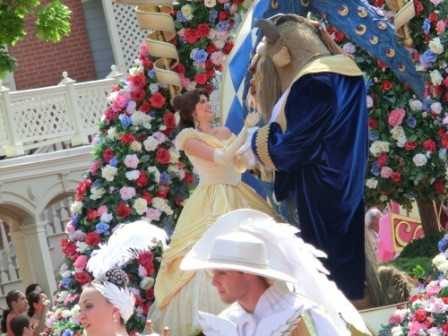 The Beauty & The Beast - Festival of Celebration Parade