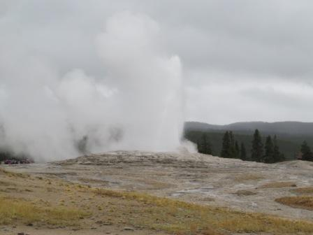 Old Faithful Ausbruch