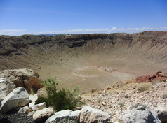 Barringer-Crater im Coconino County
